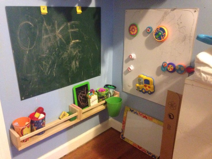 Corner Classroomrepurposed And Hacked A Bulky Art Board To Create Chalk