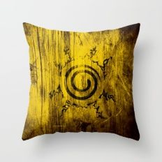 Naruto Seal Throw Pillow