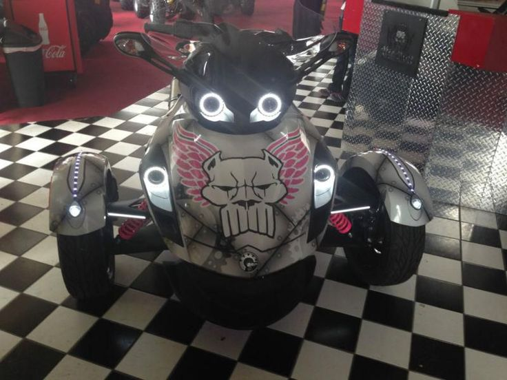 2013 Can-Am Spyder RS Custom, LED Lights, Custom wrapped., US $15,500.00, image 19
