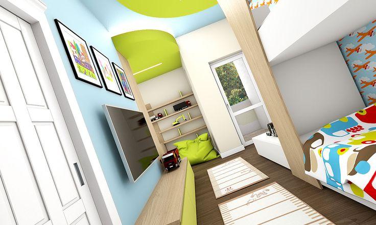 Detská izba s balkónom