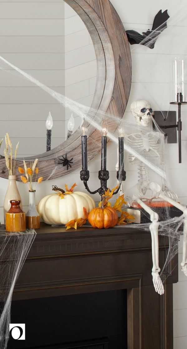 13 Must-Have Halloween Mantel Decorations - Overstock Holiday