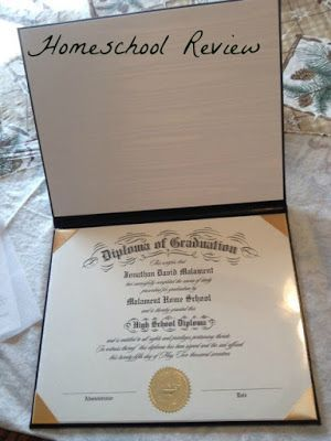 Homeschool Review: High School Diplomas for Home Schoolers - A TOS Crew Review