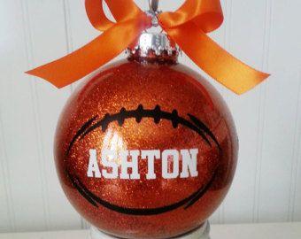 "Large 4"" SHATTER PROOF plastic Christmas Ornaments. Personalized Non Breakable Tree Ornaments baseball basketball football cheer softball"