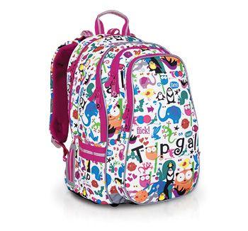 Zwierzątka z plecaka CHI 701 B - White będą umilać czas dzieciom w klasach 2-6.