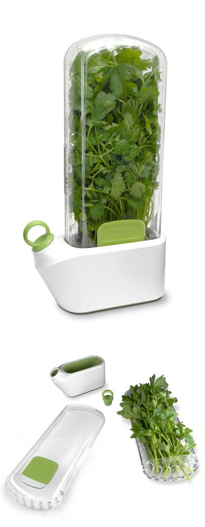 Herb Garden - has a re-fillable water well underneath, keeps herbs fresh for up to 3 weeks.