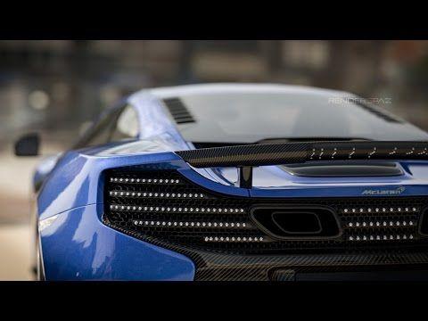 Vray RT GPU 2K Render Test - McLaren CG Render : GTX 690 - YouTube