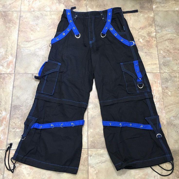 TRIPP pants - black/blue, size L-XL
