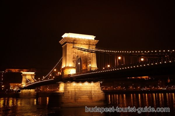 The Széchenyi Chain Bridge - the first permanent stone bridge between Buda and Pest: http://www.budapestbylocals.com/chain-bridge.html