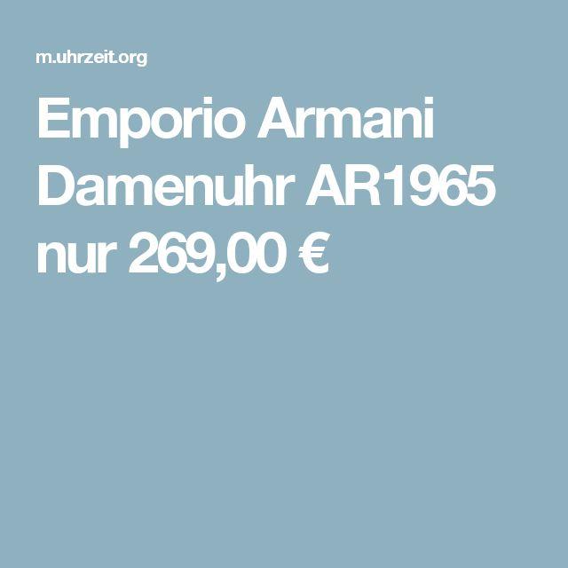 Emporio Armani Damenuhr AR1965 nur 269,00 €