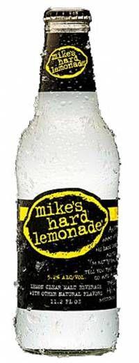 Mike's Hard Lemonade + lemon sherbert = great cold summer slushie!!!!