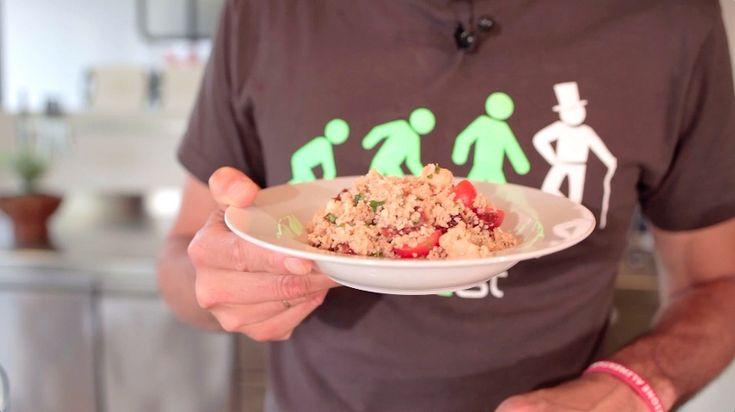 Couscous con salmone marinato agli agrumi - Marco Bianchi