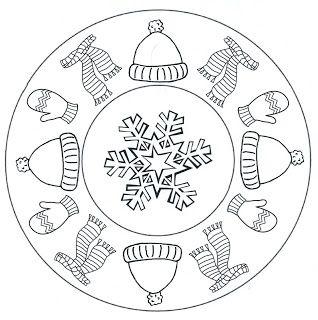 * Mandala: Winter....