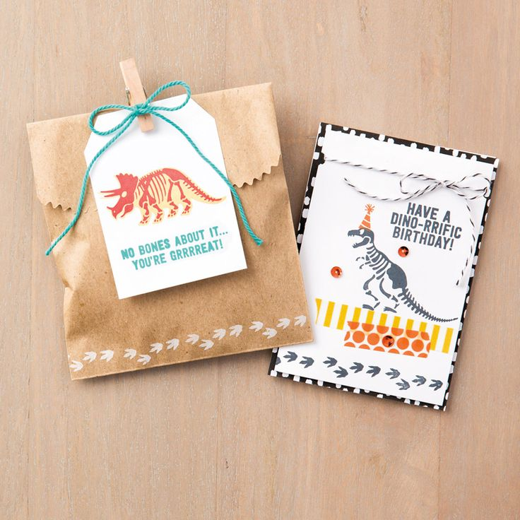 No Bones about It Photopolymer Stamp Set by Stampin' Up!