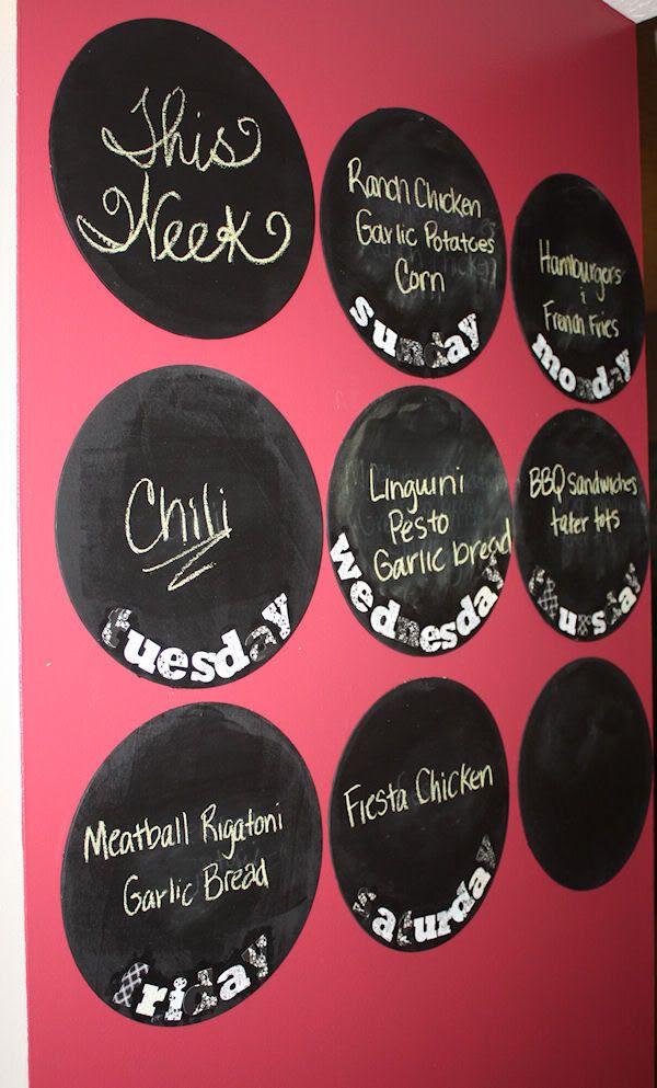 14 Best Organizer Boards Images On Pinterest Blackboard