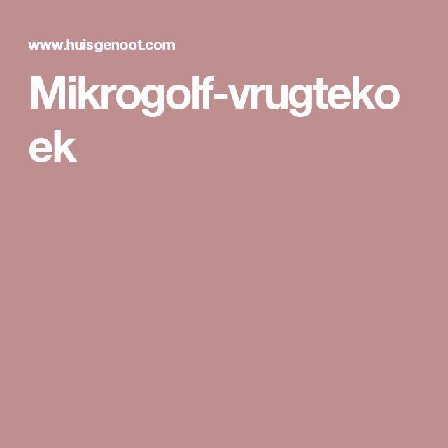 Mikrogolf-vrugtekoek
