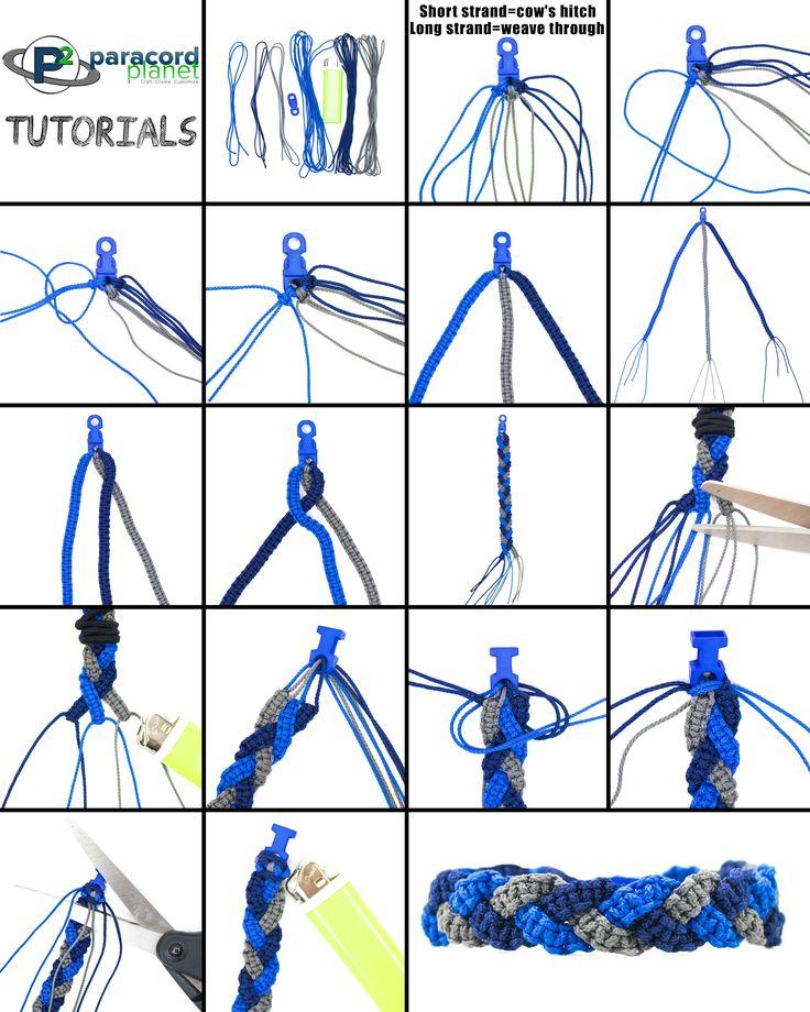 fishtail paracord braid instructions