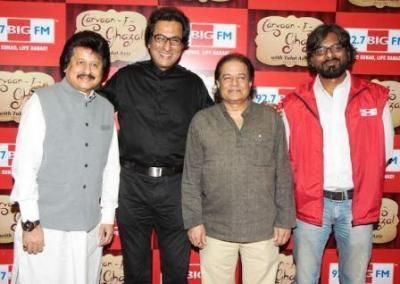 Chandigarh, November 21, 2013: 92.7 BIG FM today announced the launch of its newest show 'Carvaan-E-Ghazal with Talat Aziz' at Mumbai today.