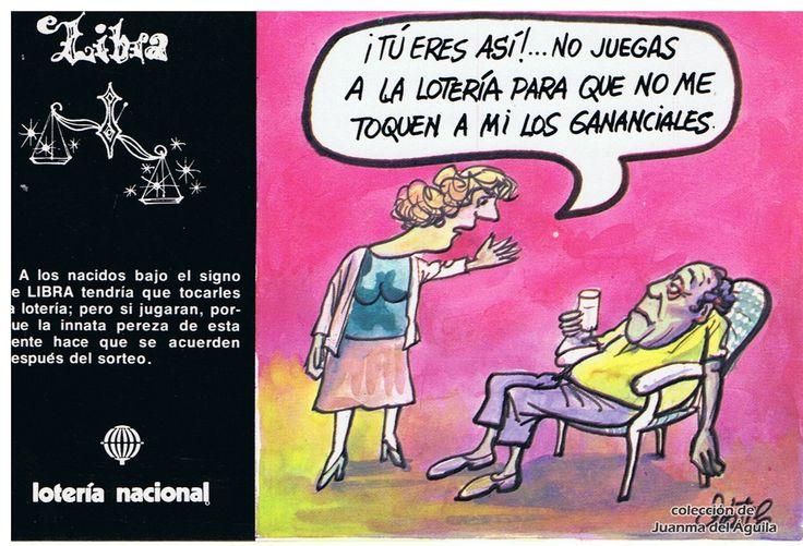 "Libra - Emilio Dáneo ""Dátile"" (España, 1981) - Zodiaco y lotería"