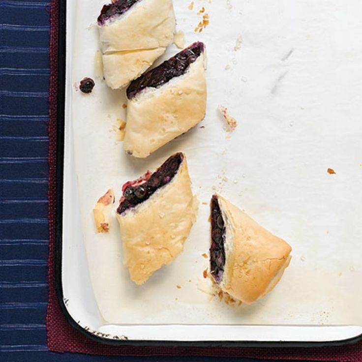 Blueberry Strudel | Clean Eating
