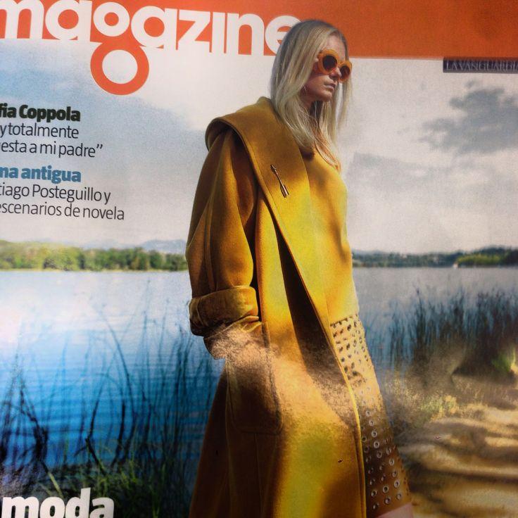 Andy Wolf in Magazine La Vanguardia #sunday #magazine #lavanguardia #andywolf #best #summer #sexy #girl #tbt #love #instagood #me #cute #follow #like #followme #picoftheday #happy #monocle_es @kaleosoptica www.monocle.es