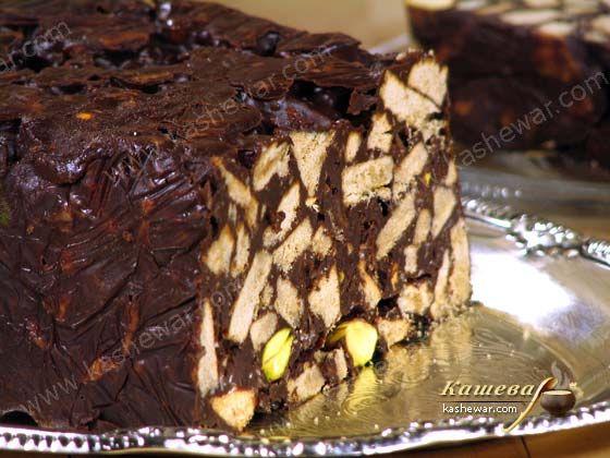 Холодный пирог с фисташками – рецепт с фото, английская кухня