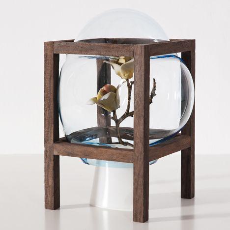 枠の中で個性を出すガラス。 Round Square | まとめのインテリア - デザイン雑貨とインテリアのまとめ