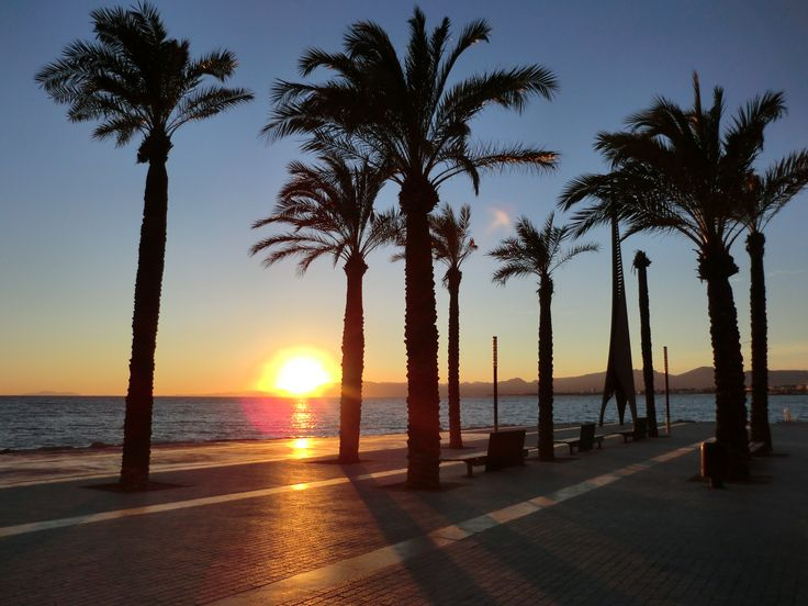 Sunset // Salou, Spain