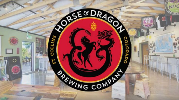 Horse dragon brewing business photosfort collinsbeer labelshorselabel stickerslizardscultureprintingbrew pub