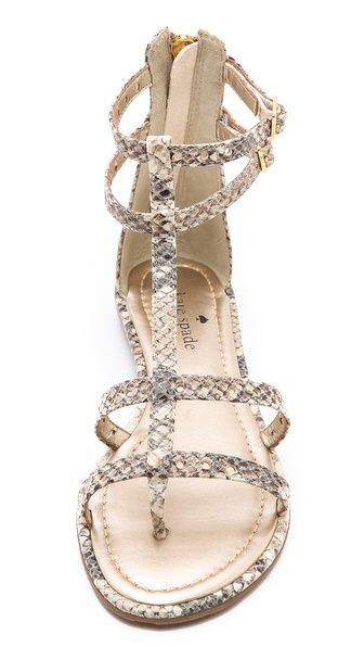 Sandals - Kate Spade New York Adagio Perf Gladiator Sandals