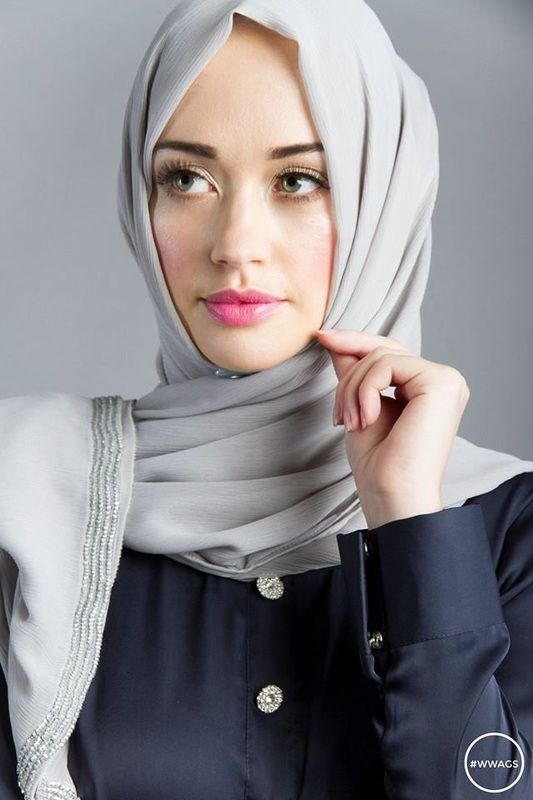 Hijab photo model