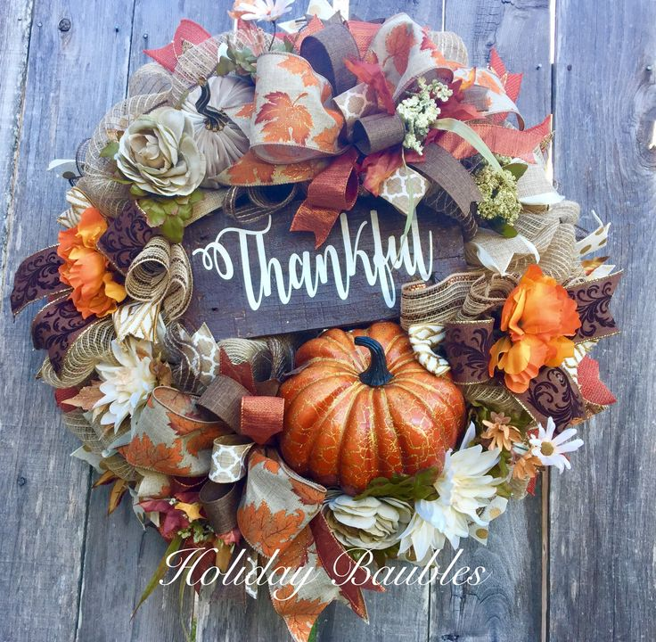 Thankful Fall by Holiday Baubles