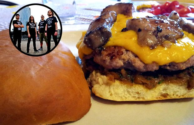 """Pyre of Fire"" Hamburger Milanese"