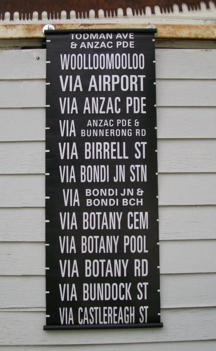 Vintage Australian Bus Roll