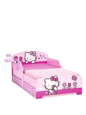 Toddler Bed with Storage, http://www.very.co.uk/hello-kitty-toddler-bed-with-storage/1380369170.prd