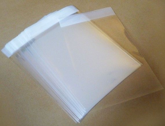 Set of  200pcs Clear Self Sealing Cello Poly Bag by AccessoryPlace, $8.00