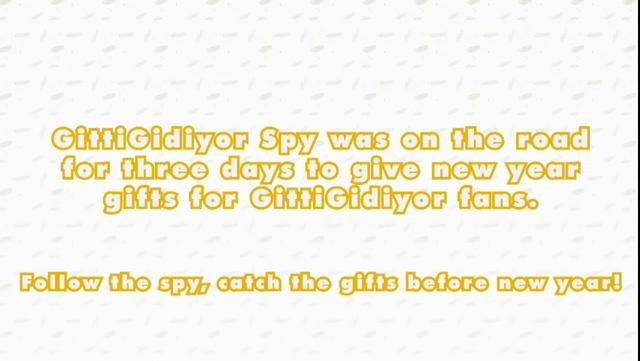 Follow The Spy Catch The Gifts!