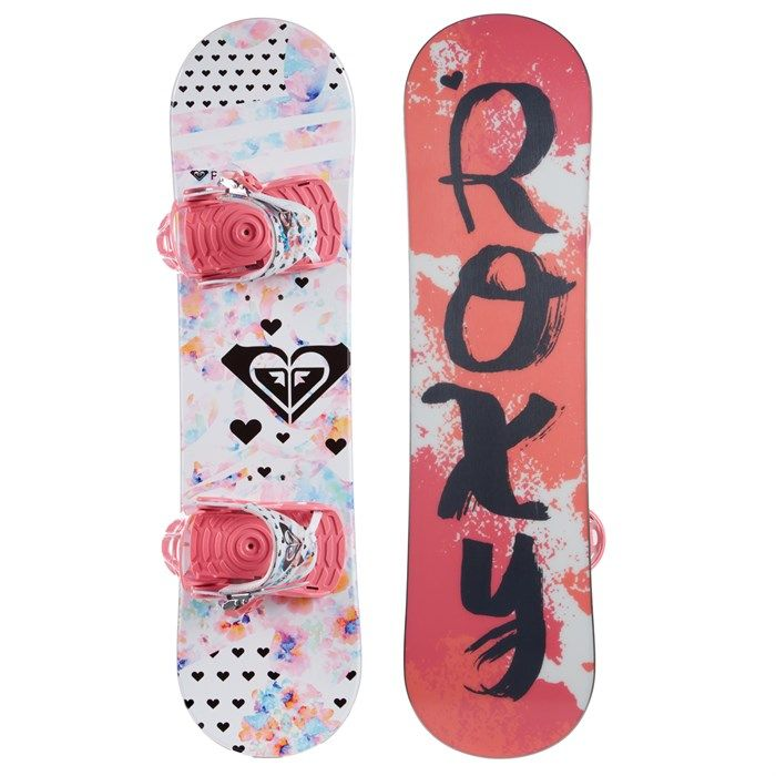Roxy - Poppy Snowboard Package - Little Girls' 2017