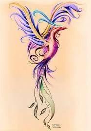 Phoenix watercolor