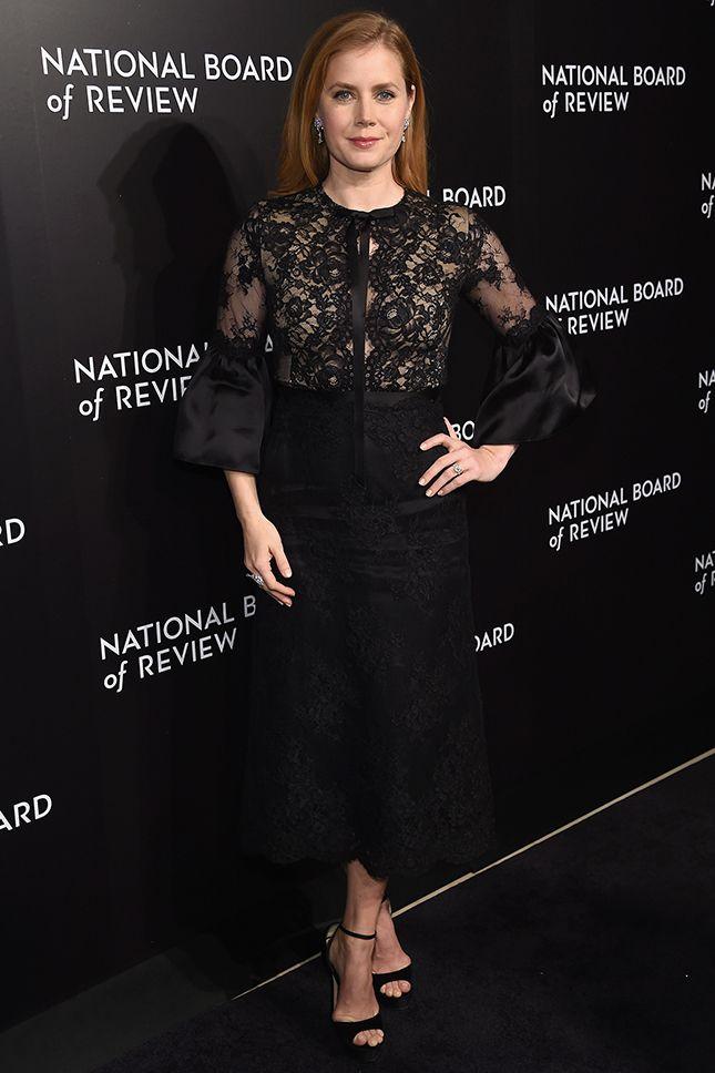 Эми Адамс в Marchesa на гала-вечере National Board of Review