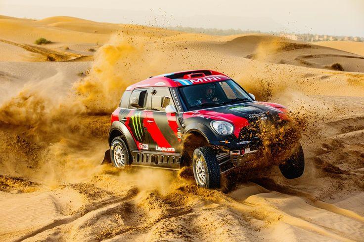 MINI verlängert Engagement in Rallye Dakar bis 2017