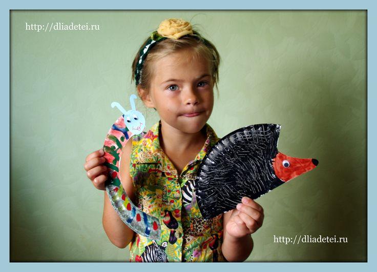 поделки для детей, поделки с детьми, гусеница +из одноразовых тарелок, поделка гусеница, поделка гусеница +из бумаги,поделка гусеница +своими руками поделка ежик, ежик поделка +для сада, поделки +из бумажных тарелок,
