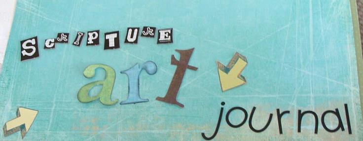 Scripture Art Journal blog: Bible Study, Bible Journaling Smash, Art Journals Scripture, Church, Bible Ideas, Journals Planners, Scriptures, Art Journaling, Scripture Journal