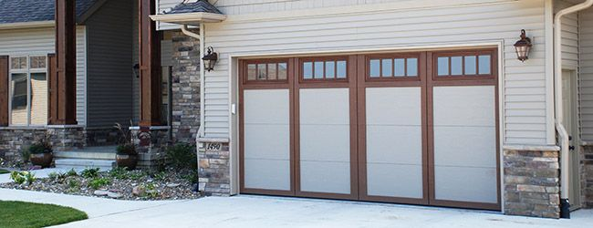Overhead Garage Door Styles Residential : Best images about carriage style garage doors on pinterest