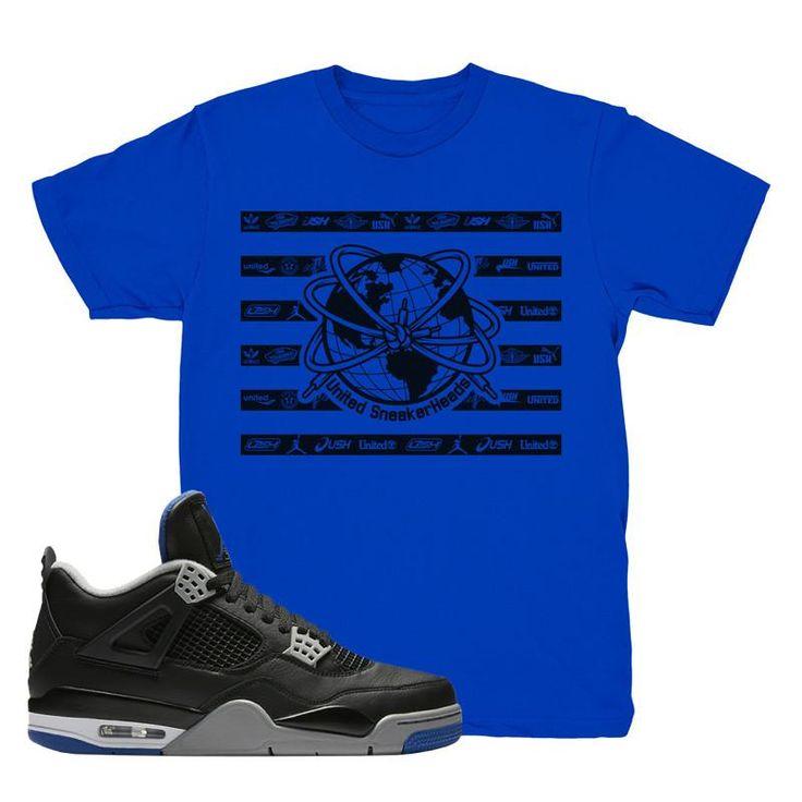 "Jordan 4 Motorsport Alternate ""United"" Royal Blue T-Shirt"