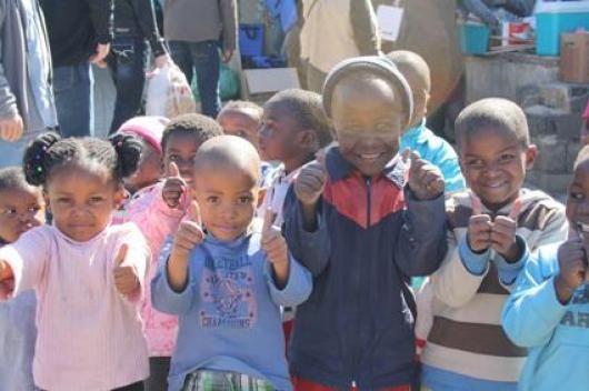 Thumbs up to Interbrand Sampson | Madiba Day 2012