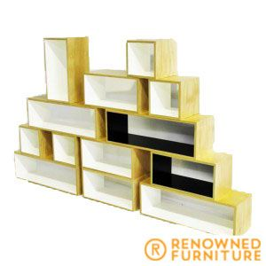 The Stack offers a neat way for you to display your collection of books as well as ornaments and pictures. It doesn't have to stay in the same configuration as you can stack it with more box modules, if you so desire later on.  http://renownedfurniture.com.au/custom-made/stack/  #throwbackthursday #tbt #furniture #renownedfurniture #bookshelf