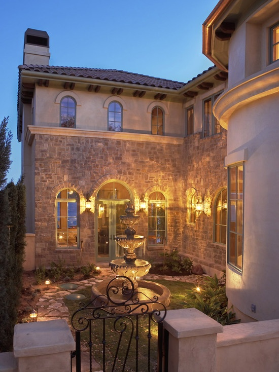17 best images about exterior tuscan spanish for French style courtyard ideas