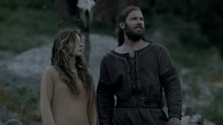 Rollo  Siggy ~ Vikings