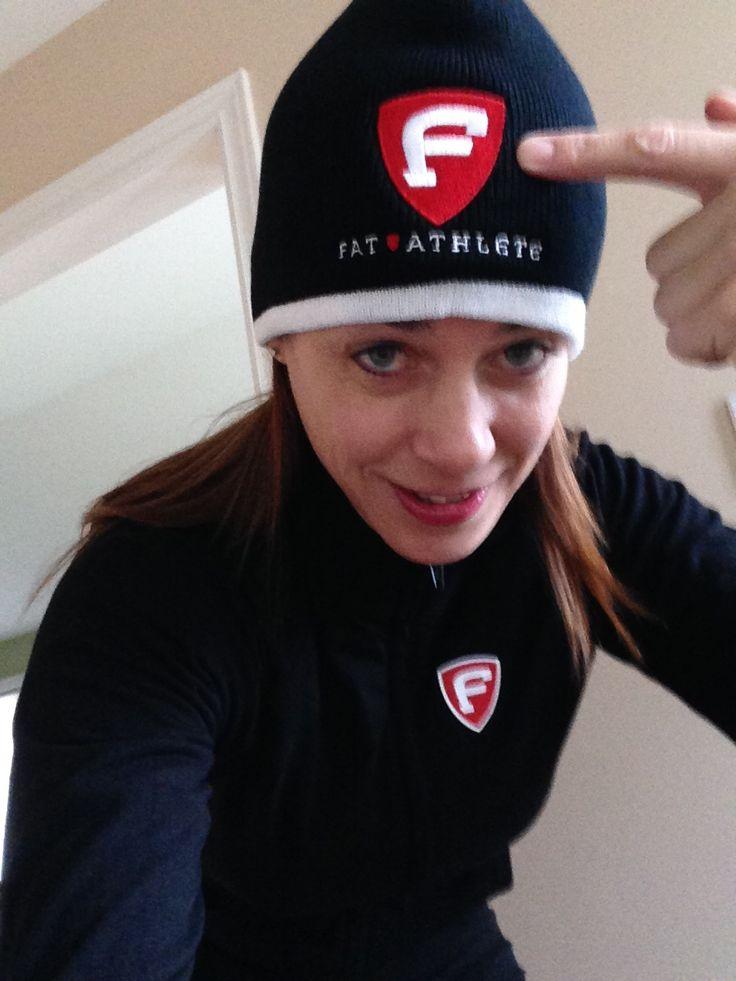 """Fat Athlete hat - 8"""" Knit Tuque - $14.99 - FatAthlete.com"""