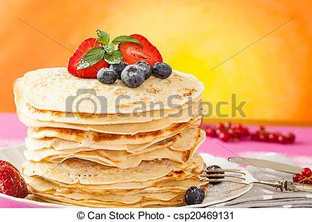 Pancakes Delight - csp20469131
